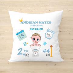 Almohada Personalizada para Bebés